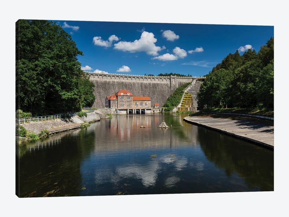 Poland, Pilchowice Water Dam by Mikolaj Gospodarek 1-piece Canvas Print
