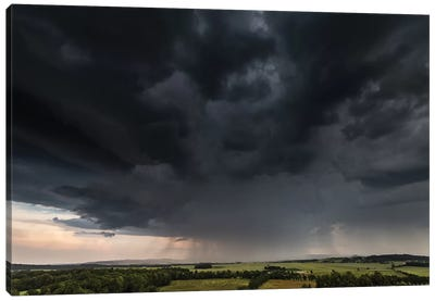 Poland, Storm Canvas Art Print