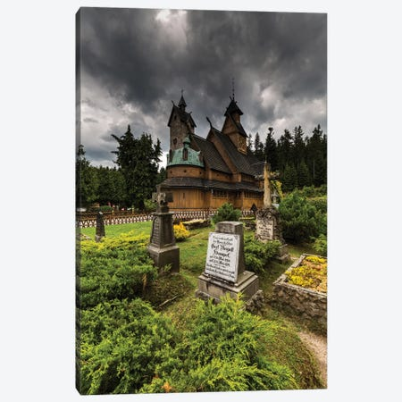 Poland, Karpacz, Vang Stave Church Canvas Print #LAJ414} by Mikolaj Gospodarek Canvas Art