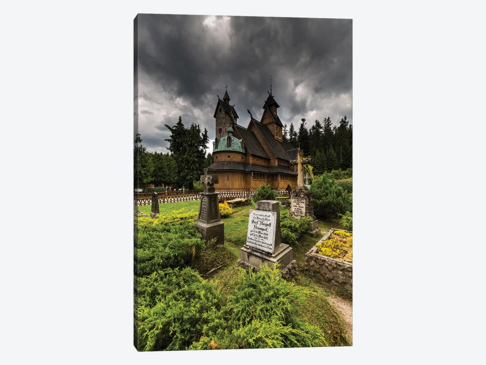 Poland, Karpacz, Vang Stave Church by Mikolaj Gospodarek 1-piece Canvas Art Print