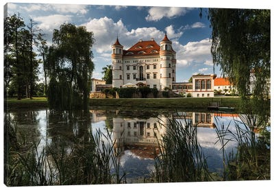 Poland, Wojanow Palace Canvas Art Print