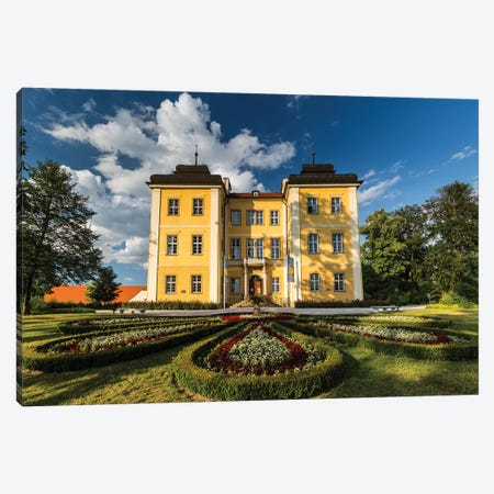 Poland, Lomnica Palace Canvas Print #LAJ416} by Mikolaj Gospodarek Canvas Wall Art