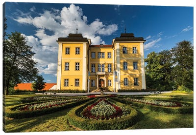 Poland, Lomnica Palace Canvas Art Print