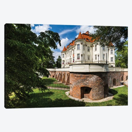 Poland, Wroclaw, Lesnica Castle Canvas Print #LAJ417} by Mikolaj Gospodarek Canvas Artwork