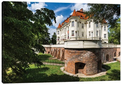 Poland, Wroclaw, Lesnica Castle Canvas Art Print