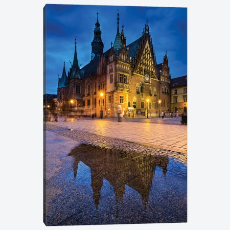 Poland, Wroclaw, Main Square II Canvas Print #LAJ421} by Mikolaj Gospodarek Canvas Wall Art