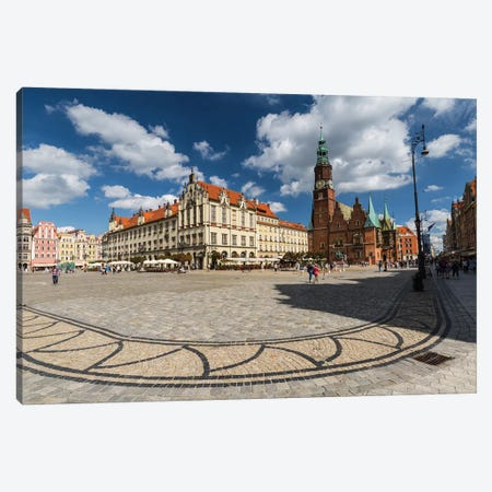 Poland, Wroclaw, Main Square III Canvas Print #LAJ422} by Mikolaj Gospodarek Canvas Artwork