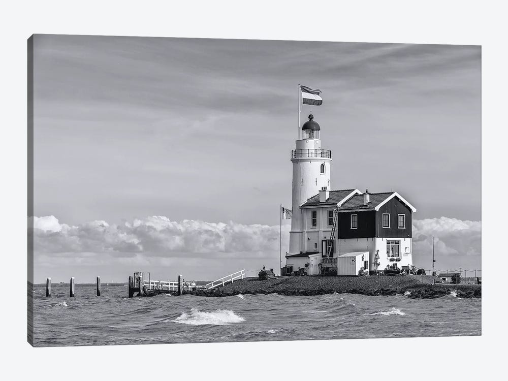 Netherlands, Marken by Mikolaj Gospodarek 1-piece Canvas Art Print