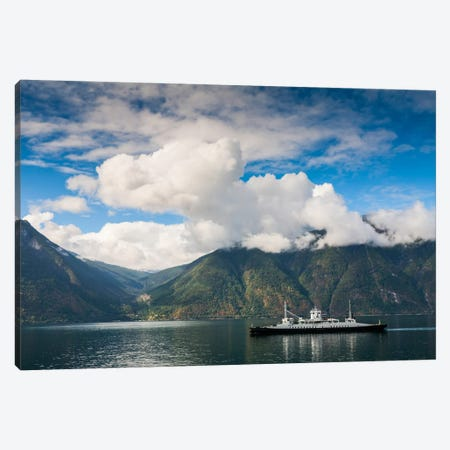 Norway, Fjord Canvas Print #LAJ42} by Mikolaj Gospodarek Art Print