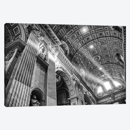 Italy, Rome, St. Peter's Basilica Canvas Print #LAJ431} by Mikolaj Gospodarek Canvas Art Print