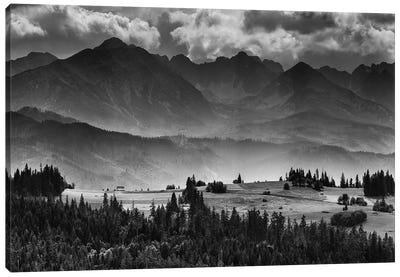 Tatra Mountains, Summer, Poland Canvas Art Print