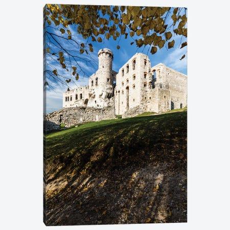 Ogrodzieniec Castle, Autumn, Poland Canvas Print #LAJ452} by Mikolaj Gospodarek Art Print