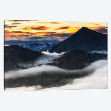 Alps. Austria Canvas Print #LAJ456} by Mikolaj Gospodarek Canvas Art