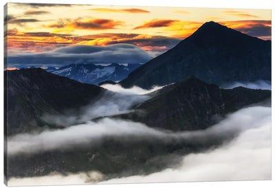 Alps. Austria Canvas Art Print