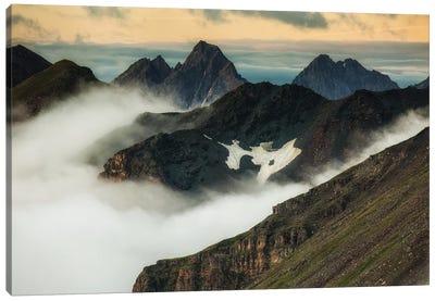 Mountains. Austria Canvas Art Print