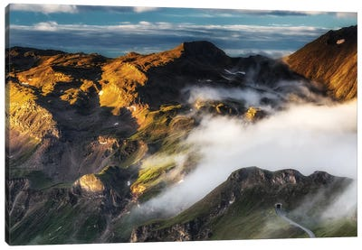 Grossglockner High Alpine Road. Austria Canvas Art Print