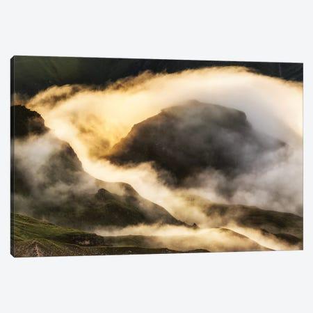 Magic Sunrise. Alps. Austria Canvas Print #LAJ460} by Mikolaj Gospodarek Canvas Artwork