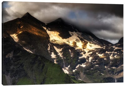 Moutains. Alps. Austria Canvas Art Print