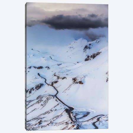 Grossglockner High Alpine Road. Winter. Austria Canvas Print #LAJ463} by Mikolaj Gospodarek Canvas Art