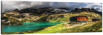 Weißsee Glacier Region. Alps. Austria Canvas Art Print