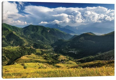 French Alps Canvas Art Print