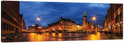 Wroclaw, Poland - Old Town Canvas Art Print