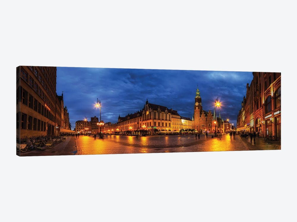 Wroclaw, Poland - Old Town 1-piece Canvas Print