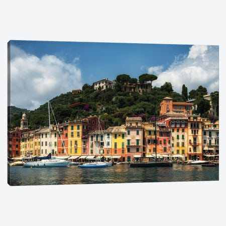Portofino - Italy Canvas Print #LAJ471} by Mikolaj Gospodarek Art Print