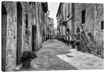 Pienza In Tuscany - Italy Canvas Art Print