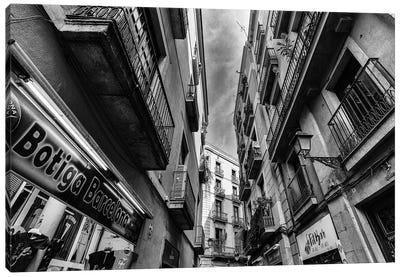 Old Town Barcelona, Spain Canvas Art Print
