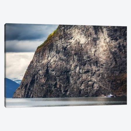 Flåm, Aurlandsfjorden, Norway Canvas Print #LAJ489} by Mikolaj Gospodarek Canvas Artwork