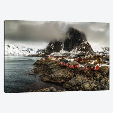 Winter In Lofoten, Hamnoy - Norway Canvas Print #LAJ492} by Mikolaj Gospodarek Art Print