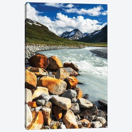 Mountain Stream, Jotunheimen, Norway Canvas Print #LAJ497} by Mikolaj Gospodarek Canvas Art