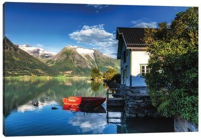 Hjelle, Norway Canvas Art Print