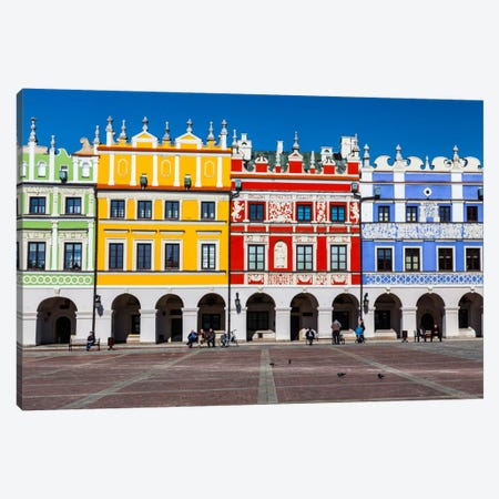 Poland, Lubelskie, Zamość Canvas Print #LAJ73} by Mikolaj Gospodarek Canvas Art