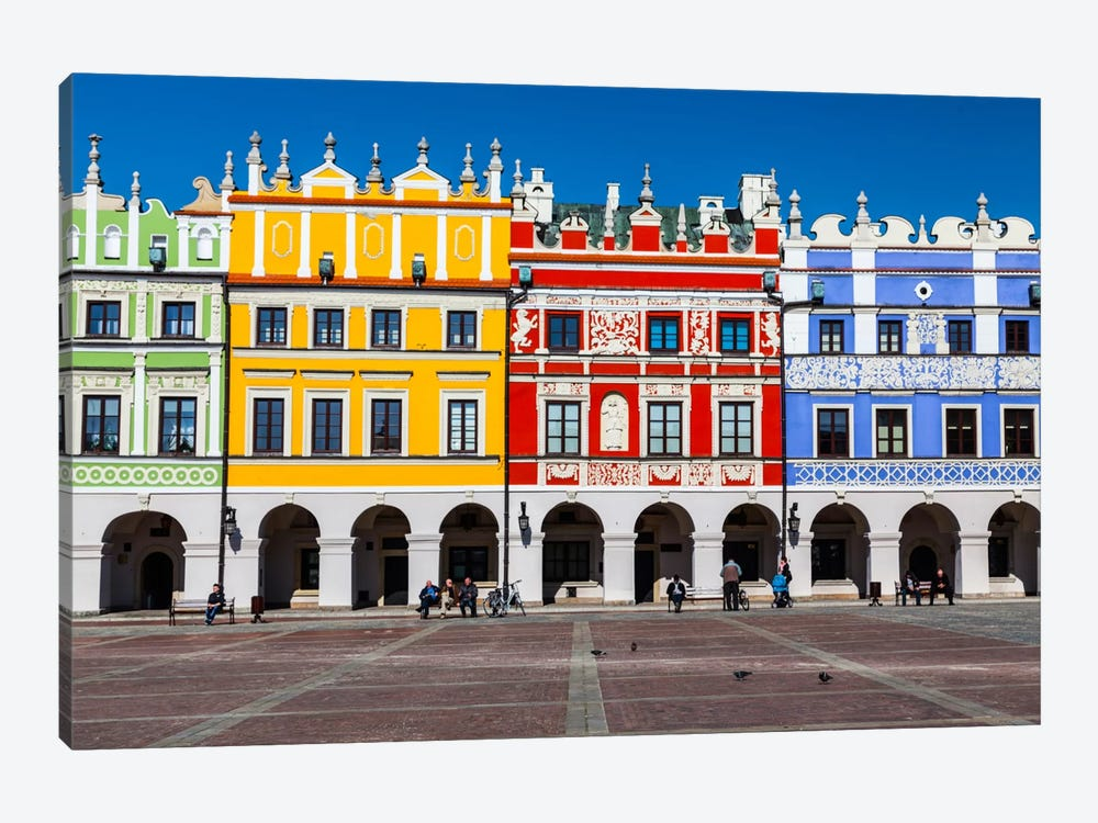 Poland, Lubelskie, Zamość by Mikolaj Gospodarek 1-piece Canvas Artwork