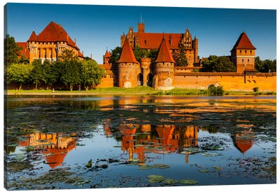 Poland, Malbork Castle Canvas Art Print