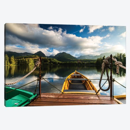 Slovakia, Tatra Mountains, Štrbské Pleso Canvas Print #LAJ85} by Mikolaj Gospodarek Canvas Wall Art