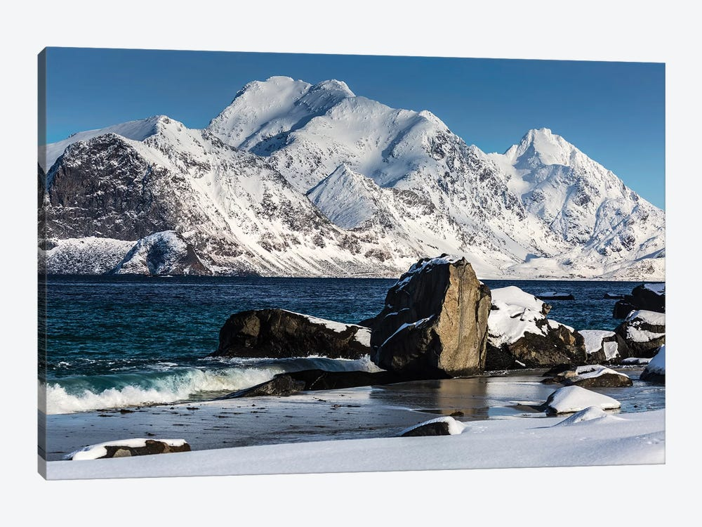Norway, Lofoten, Myrland I by Mikolaj Gospodarek 1-piece Canvas Print