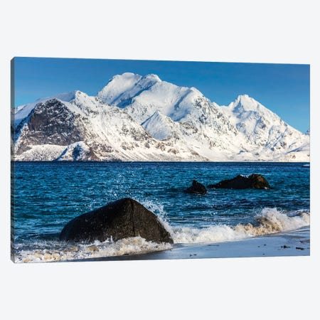 Norway, Lofoten, Myrland II Canvas Print #LAJ99} by Mikolaj Gospodarek Canvas Artwork
