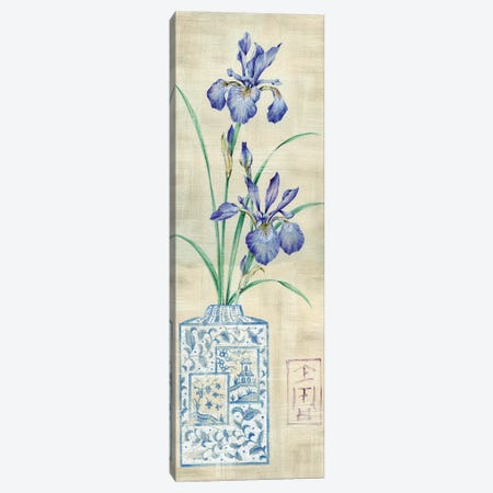 Asian Floral I Canvas Print #LAK1} by Claire Lake Canvas Art Print
