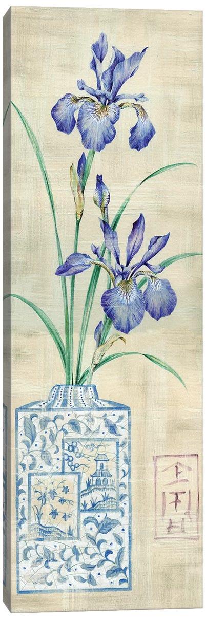 Asian Floral I Canvas Art Print