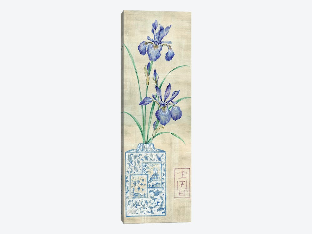 Asian Floral I by Claire Lake 1-piece Art Print