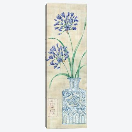 Asian Floral II 3-Piece Canvas #LAK2} by Claire Lake Canvas Art Print