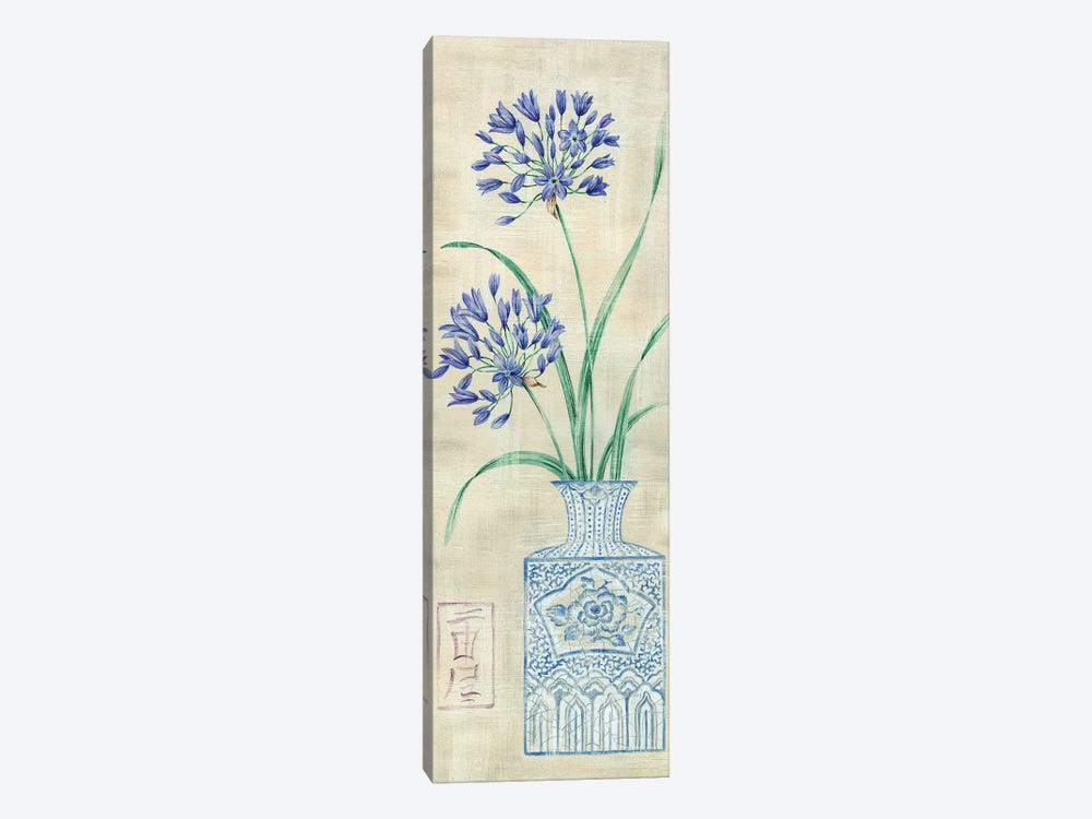 Asian Floral II by Claire Lake 1-piece Canvas Wall Art