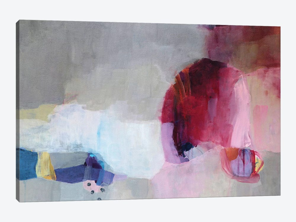 Echoes Of Desire I by Lina Alattar 1-piece Canvas Print