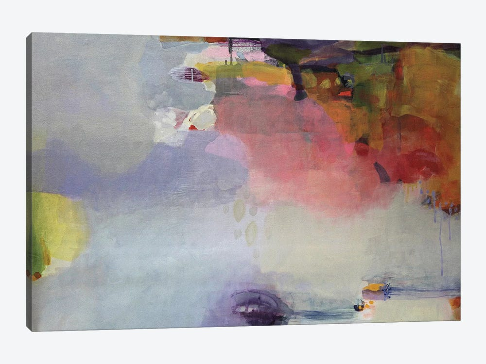 Other Side Of The Moon by Lina Alattar 1-piece Canvas Artwork