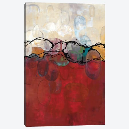 Retro Jewels II Canvas Print #LAM6} by Laurie Maitland Canvas Wall Art