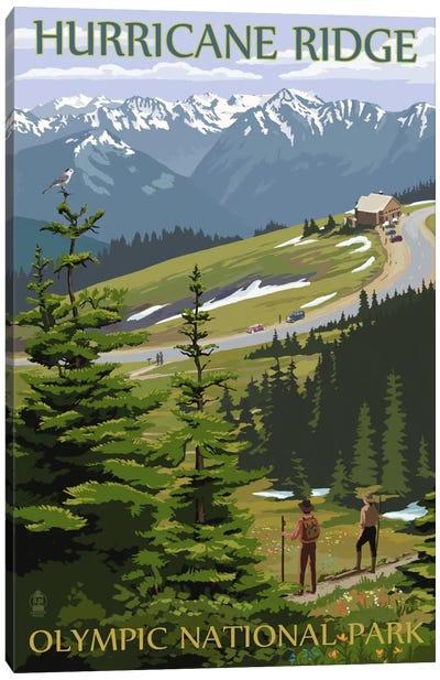 U.S. National Park Service Series: Olympic National Park (Hurricane Ridge) Canvas Print #LAN104
