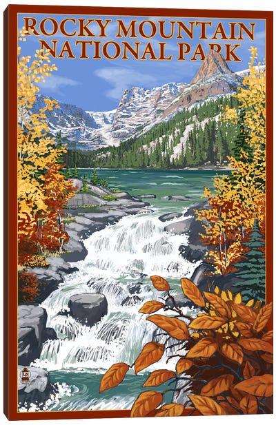 U.S. National Park Service Series: Rocky Mountain National Park (Odessa Lake) Canvas Print #LAN113